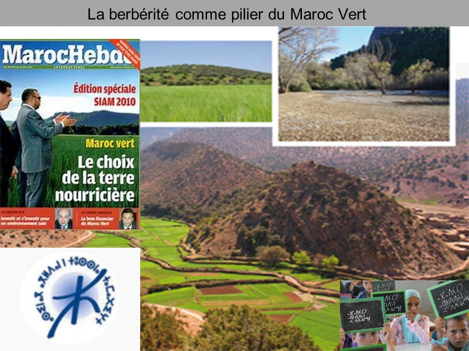 La berbérité comme pilier du Maroc Vert