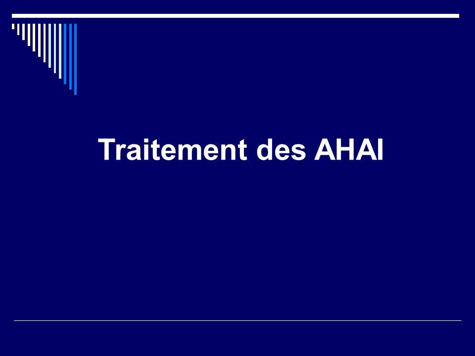 Traitement des AHAI