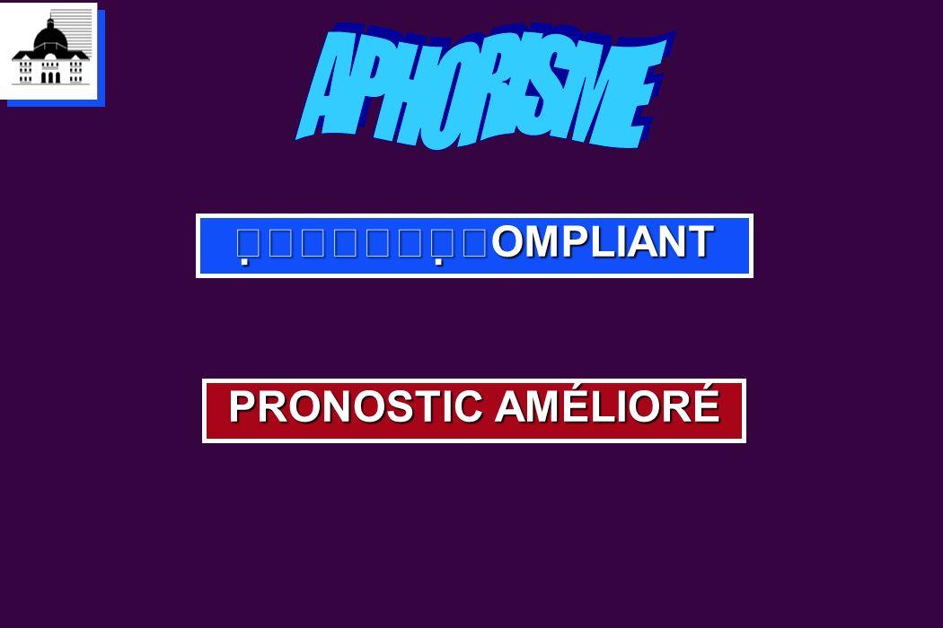 APHORISME OMPLIANT PRONOSTIC AMÉLIORÉ