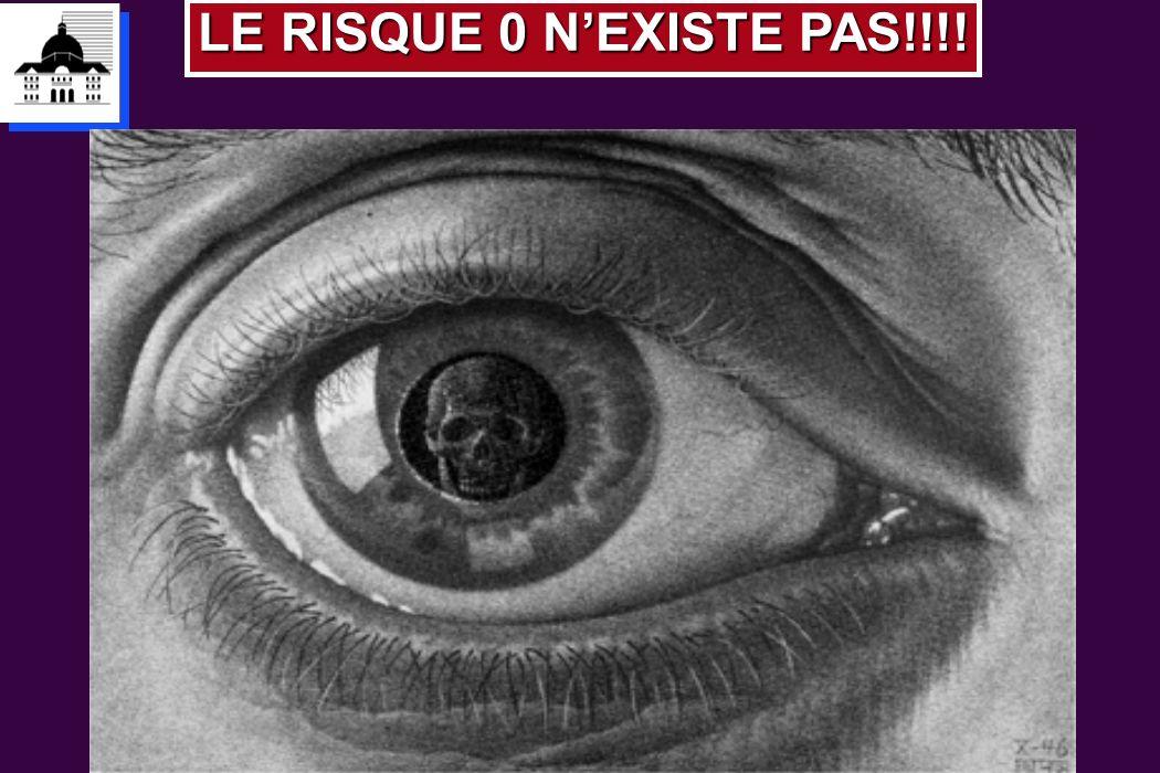 LE RISQUE 0 N'EXISTE PAS!!!!