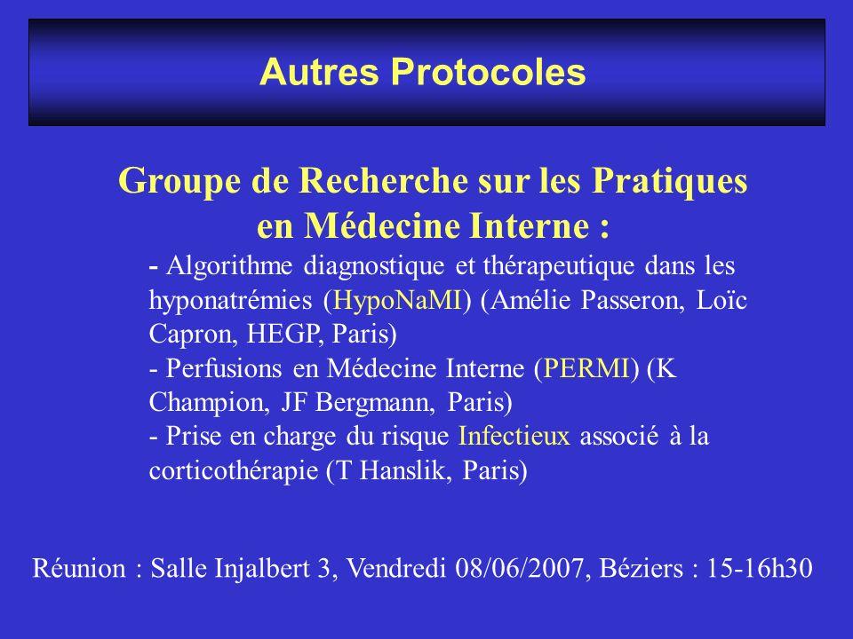 Groupe de Recherche sur les Pratiques en Médecine Interne :