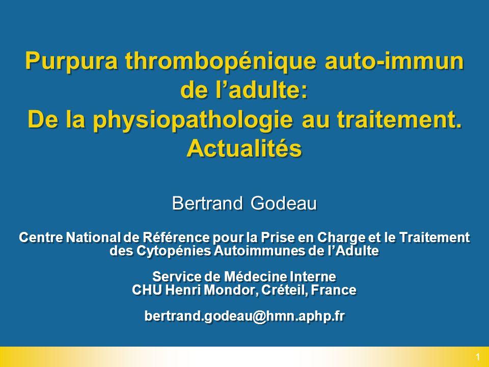 Service de Médecine Interne CHU Henri Mondor, Créteil, France