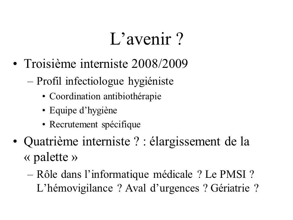 L'avenir Troisième interniste 2008/2009