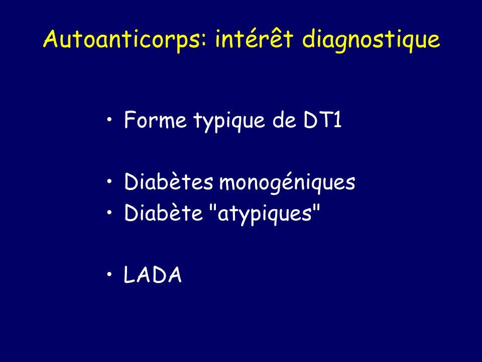 Autoanticorps: intérêt diagnostique