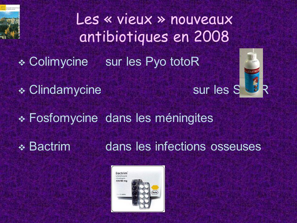 Les « vieux » nouveaux antibiotiques en 2008