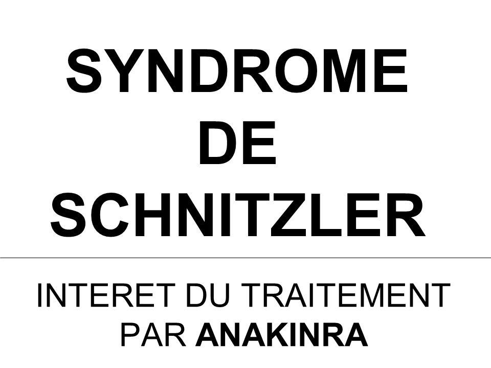 SYNDROME DE SCHNITZLER