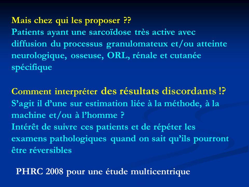 PHRC 2008 pour une étude multicentrique