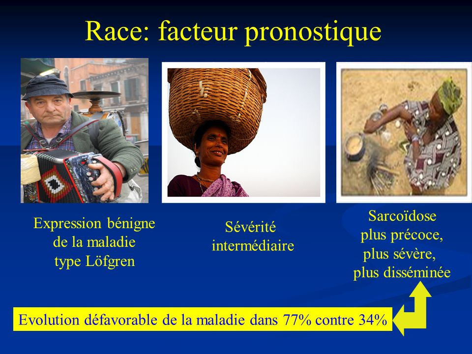 Race: facteur pronostique