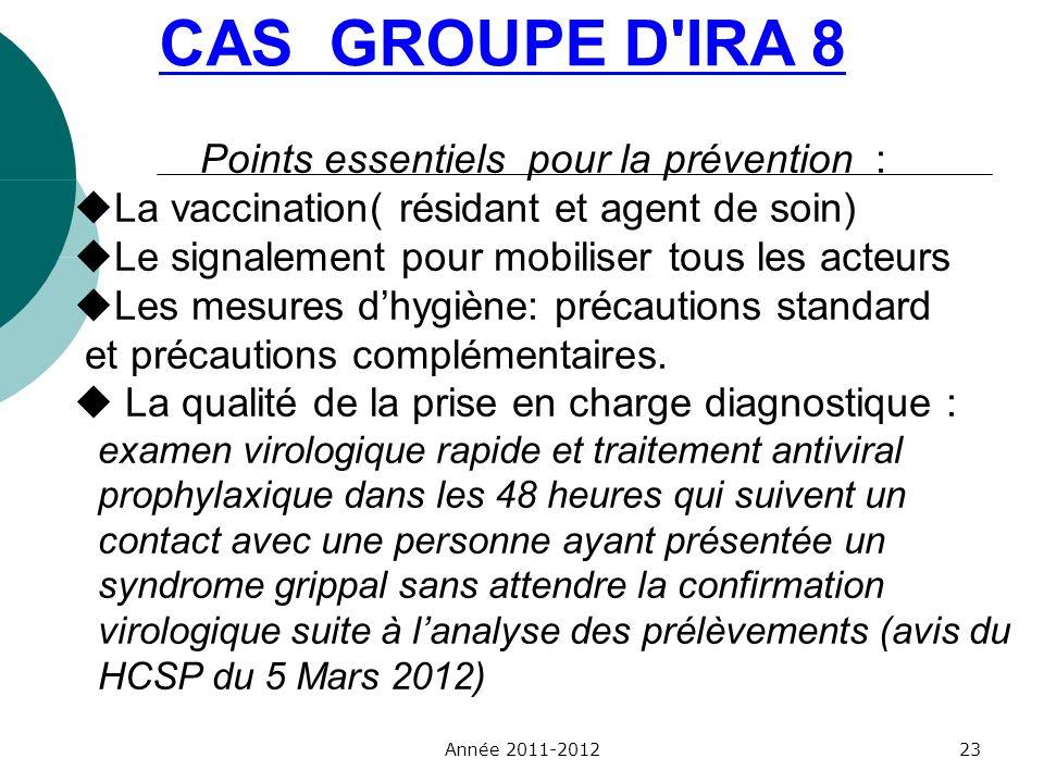 Points essentiels pour la prévention :