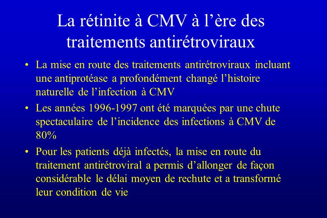 La rétinite à CMV à l'ère des traitements antirétroviraux