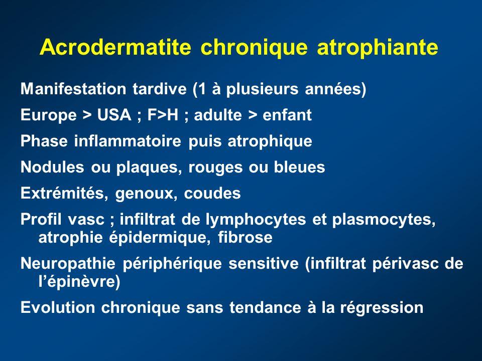 Acrodermatite chronique atrophiante