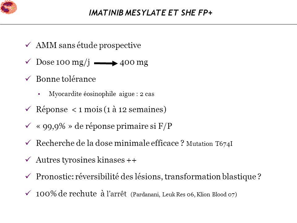 IMATINIB MESYLATE ET SHE FP+