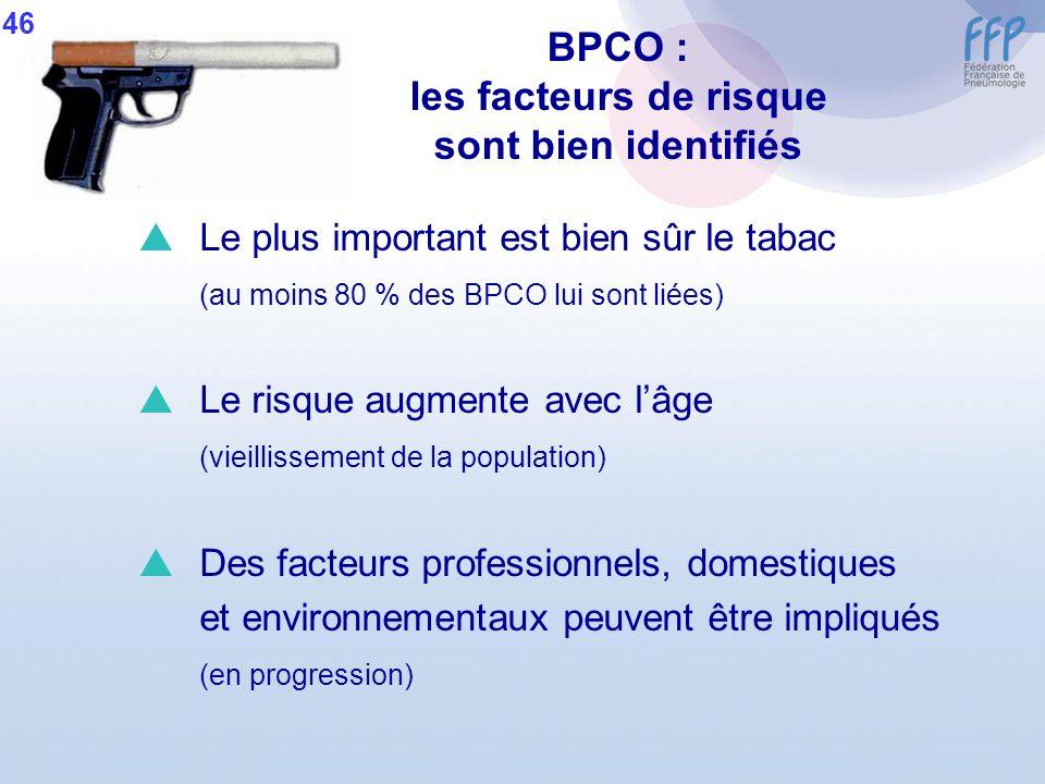 BPCO : les facteurs de risque sont bien identifiés
