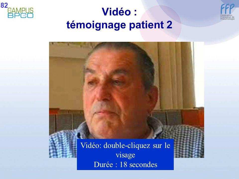 Vidéo : témoignage patient 2