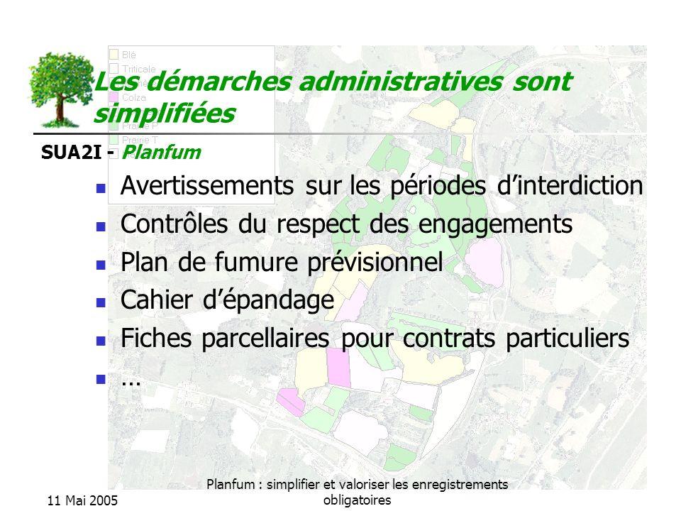 Les démarches administratives sont simplifiées