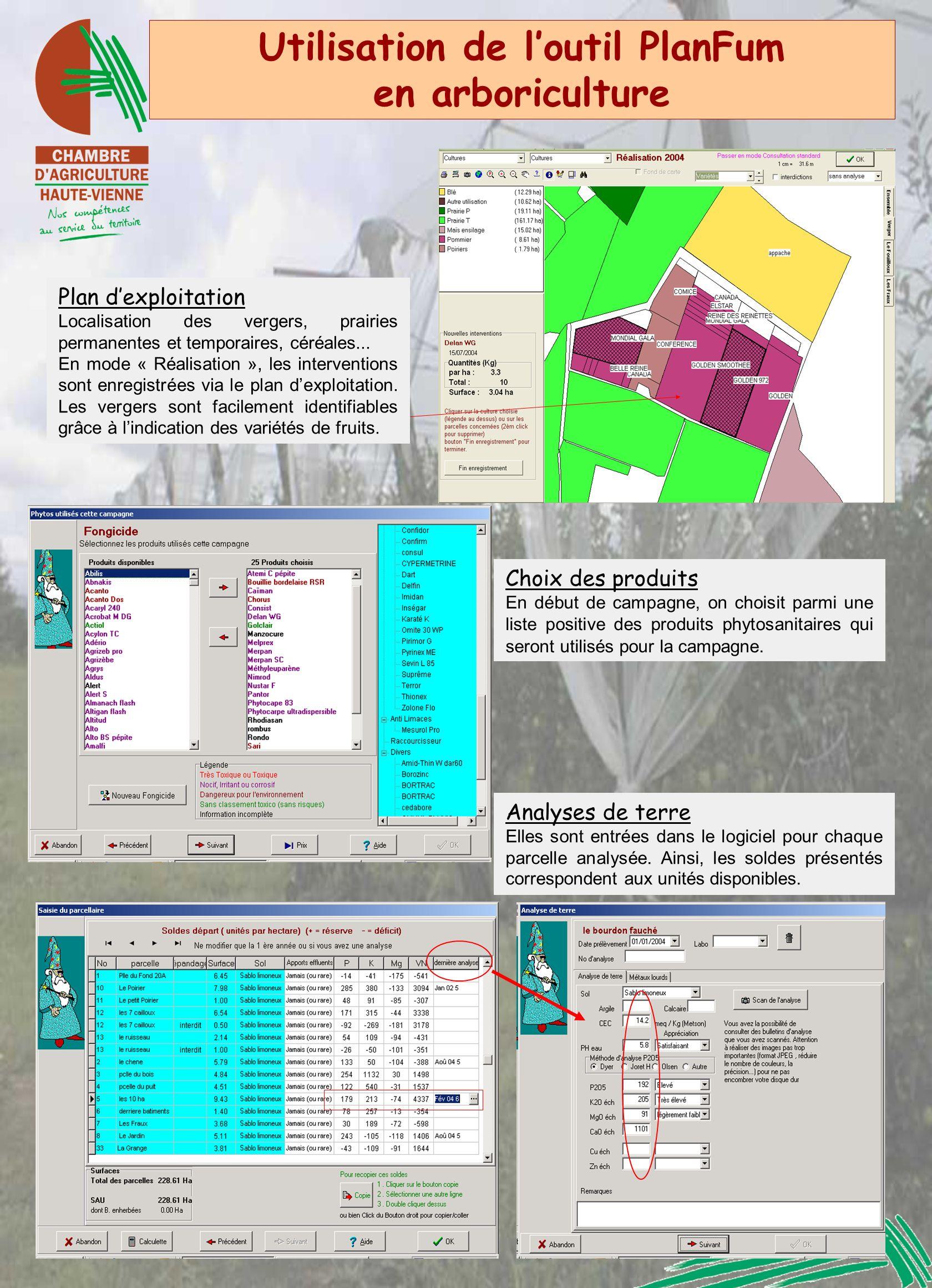 Utilisation de l'outil PlanFum en arboriculture
