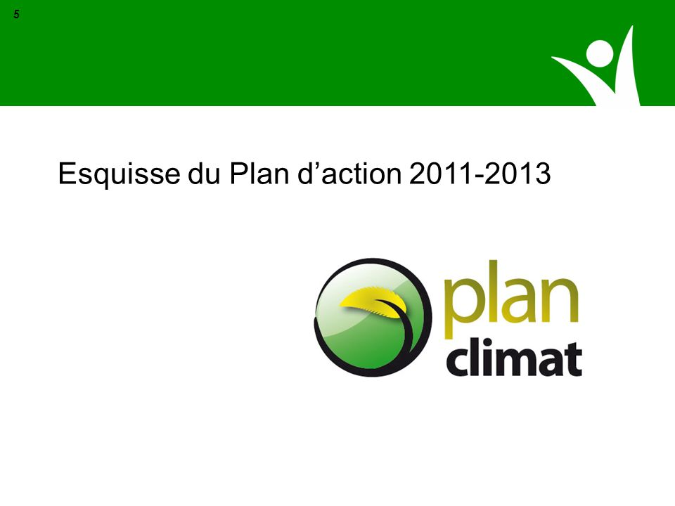 Esquisse du Plan d'action 2011-2013