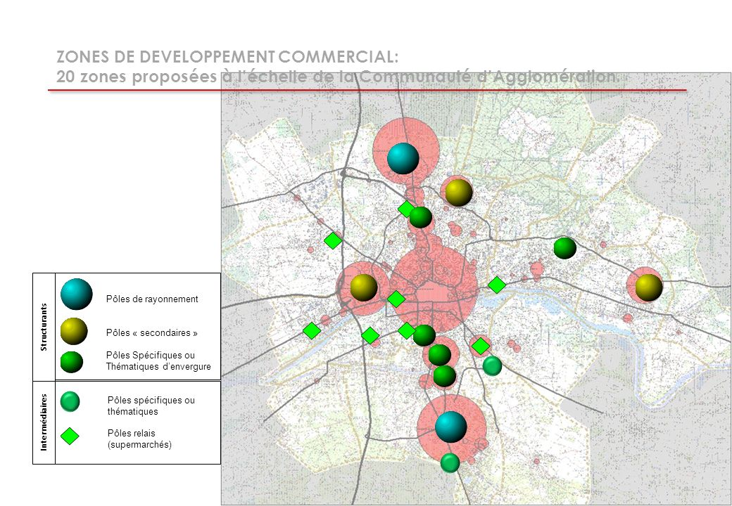 ZONES DE DEVELOPPEMENT COMMERCIAL: