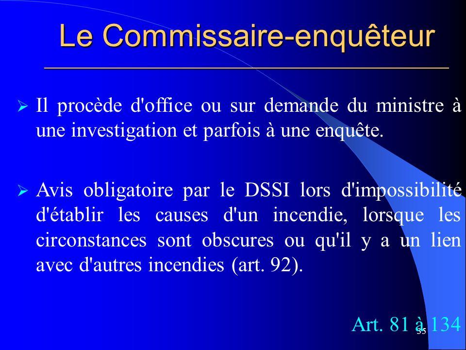 Le Commissaire-enquêteur ________________________________________________________