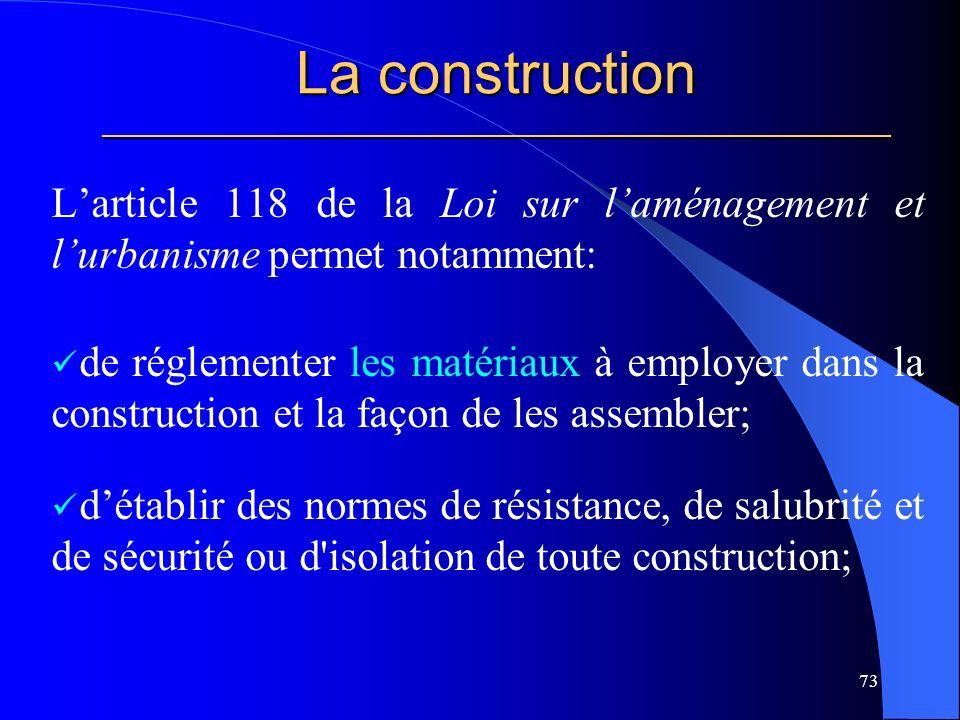 La construction _____________________________________________________