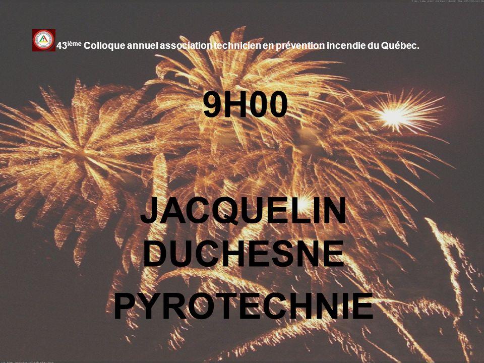JACQUELIN DUCHESNE PYROTECHNIE