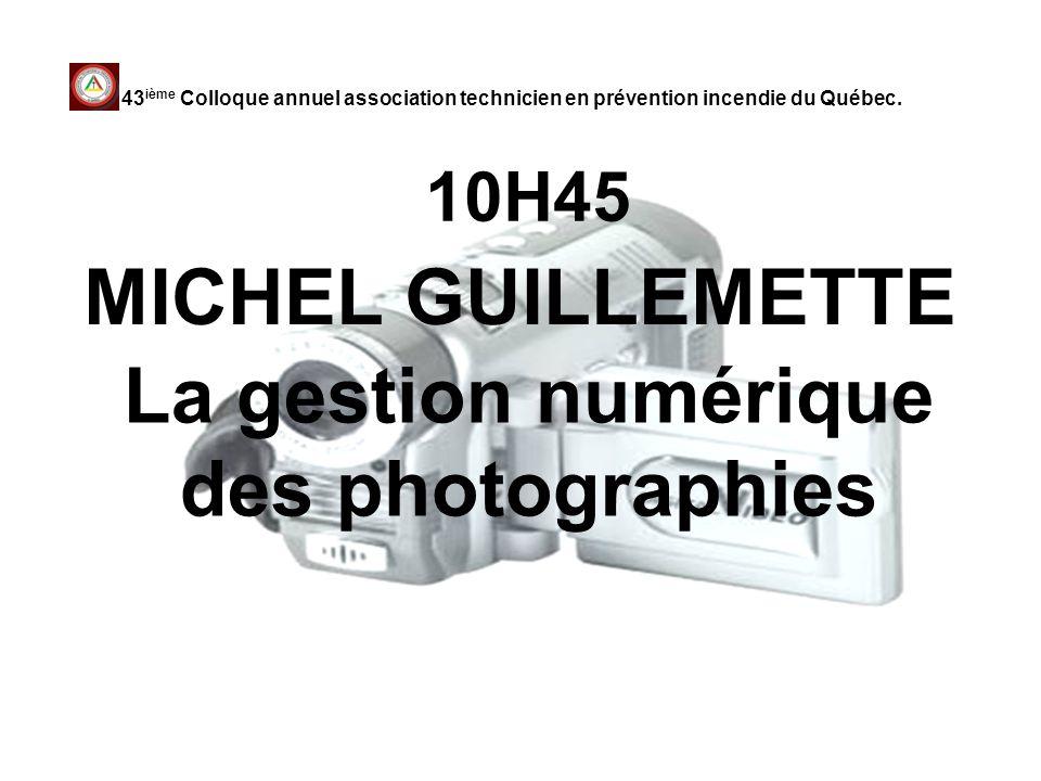 La gestion numérique des photographies