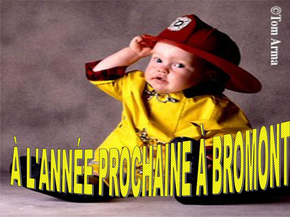 À L ANNÉE PROCHAINE À BROMONT