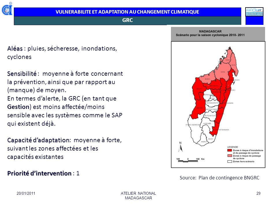 Aléas : pluies, sécheresse, inondations, cyclones