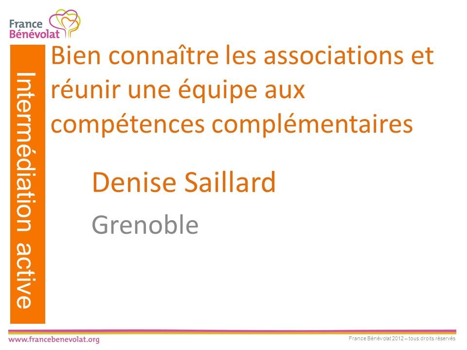 Denise Saillard Grenoble