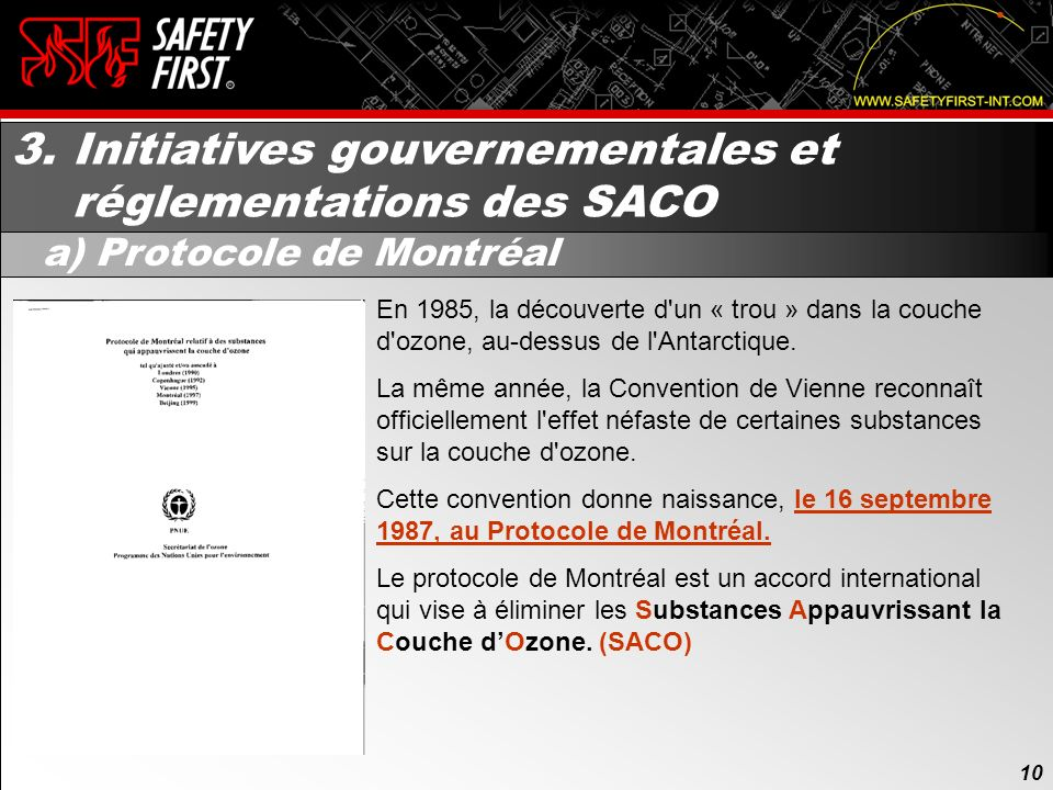 3. Initiatives gouvernementales et réglementations des SACO