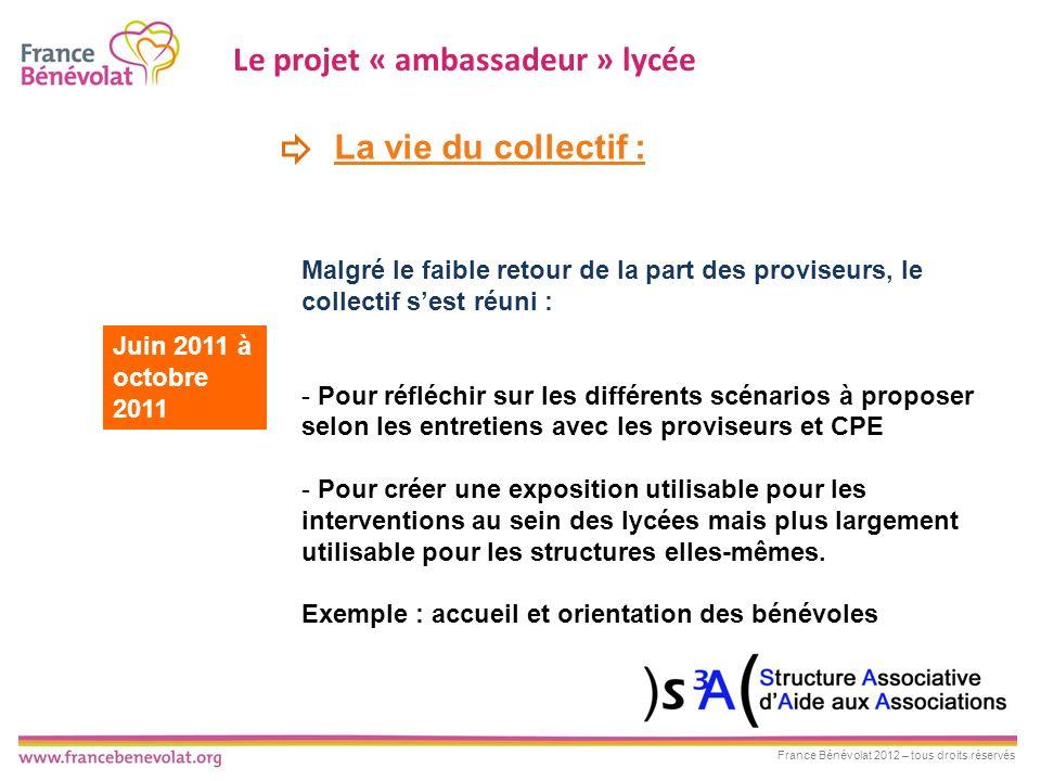 Le projet « ambassadeur » lycée