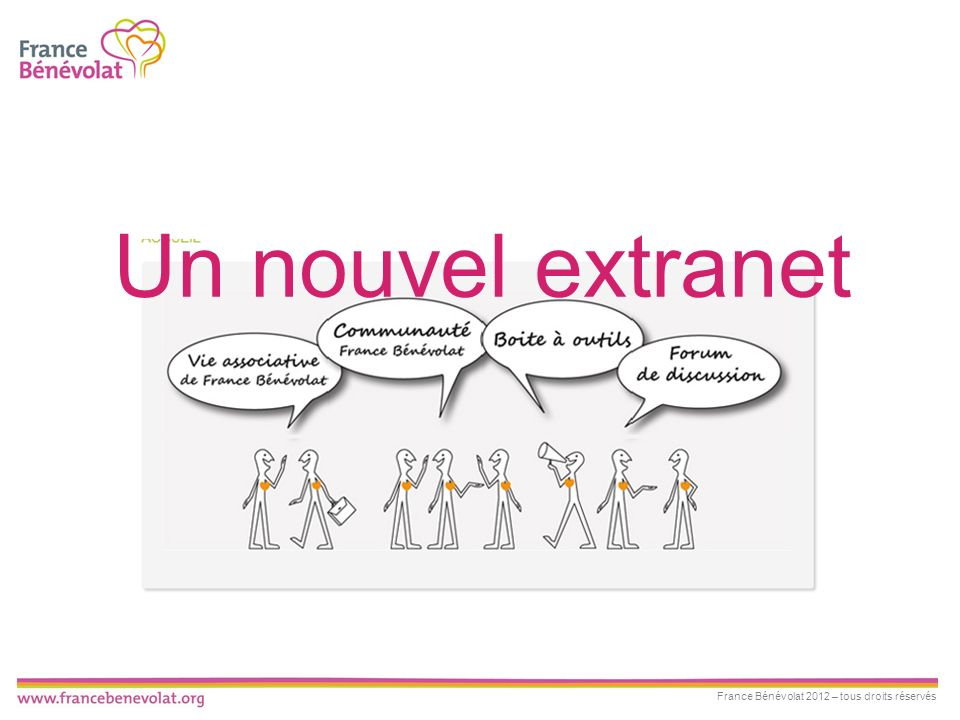 Un nouvel extranet