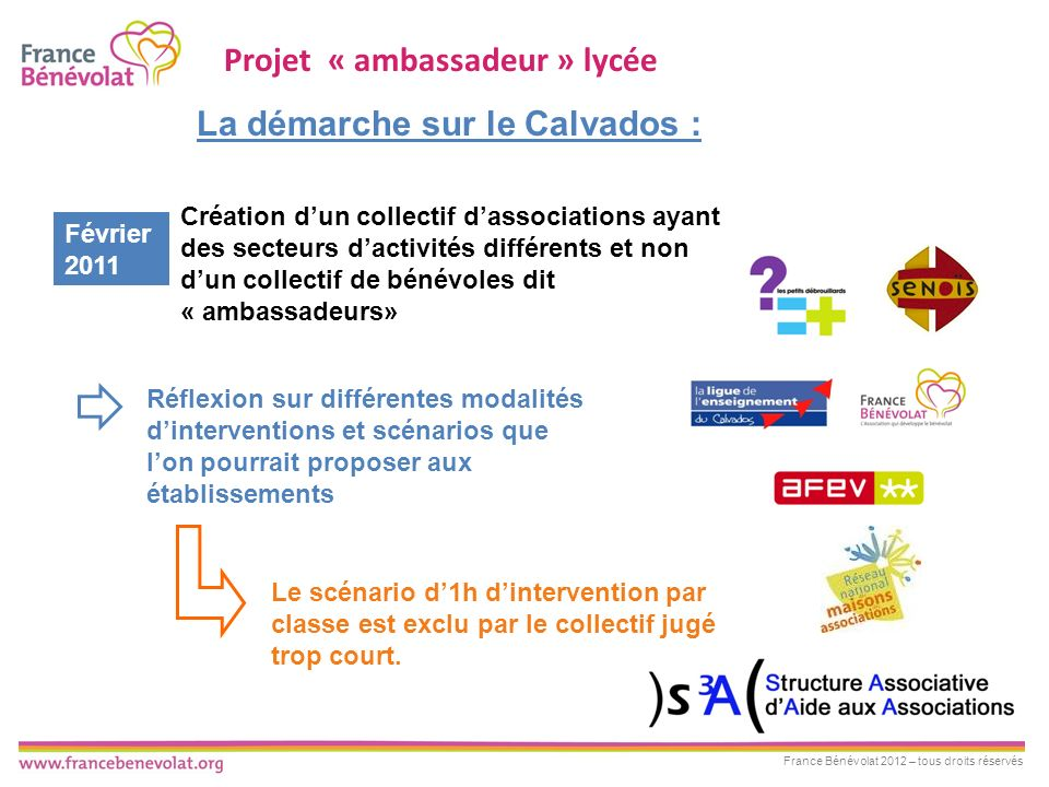 Projet « ambassadeur » lycée