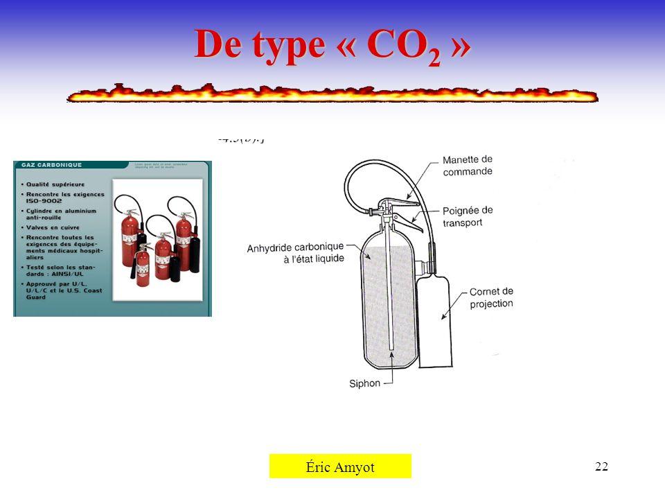 De type « CO2 » Pierre Rémillard Éric Amyot