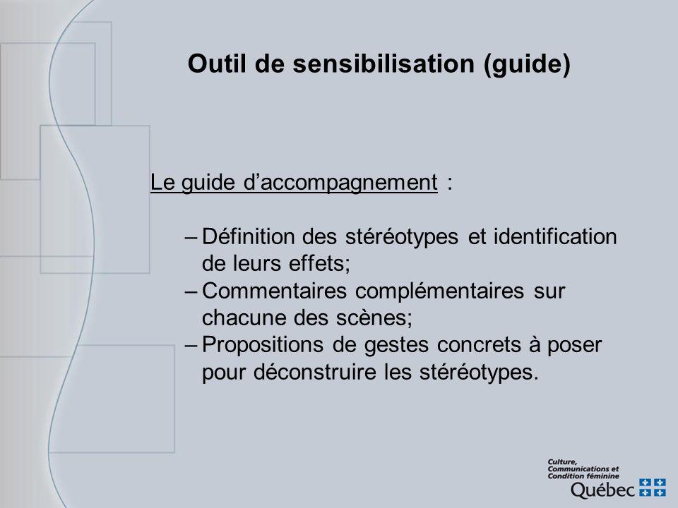 Outil de sensibilisation (guide)