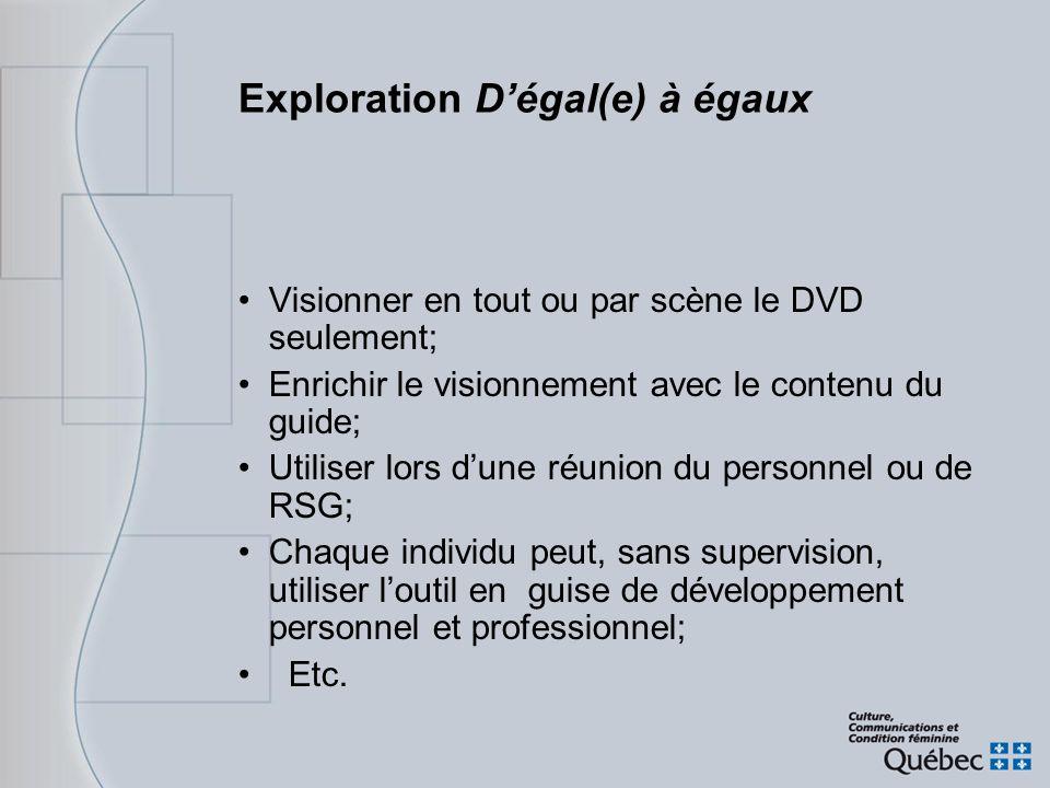 Exploration D'égal(e) à égaux