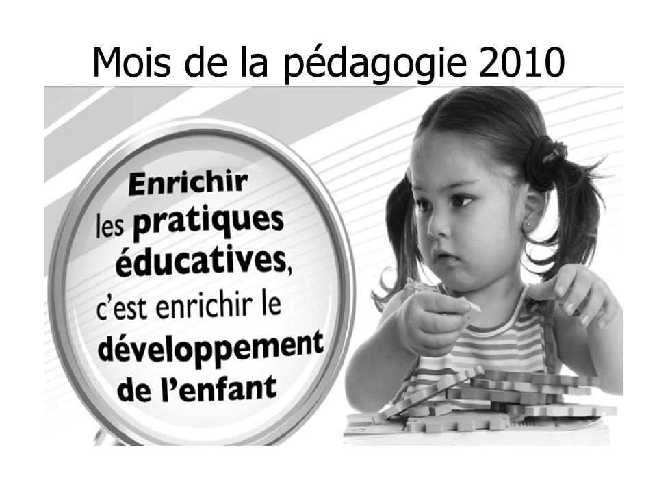 Mois de la pédagogie 2010 4