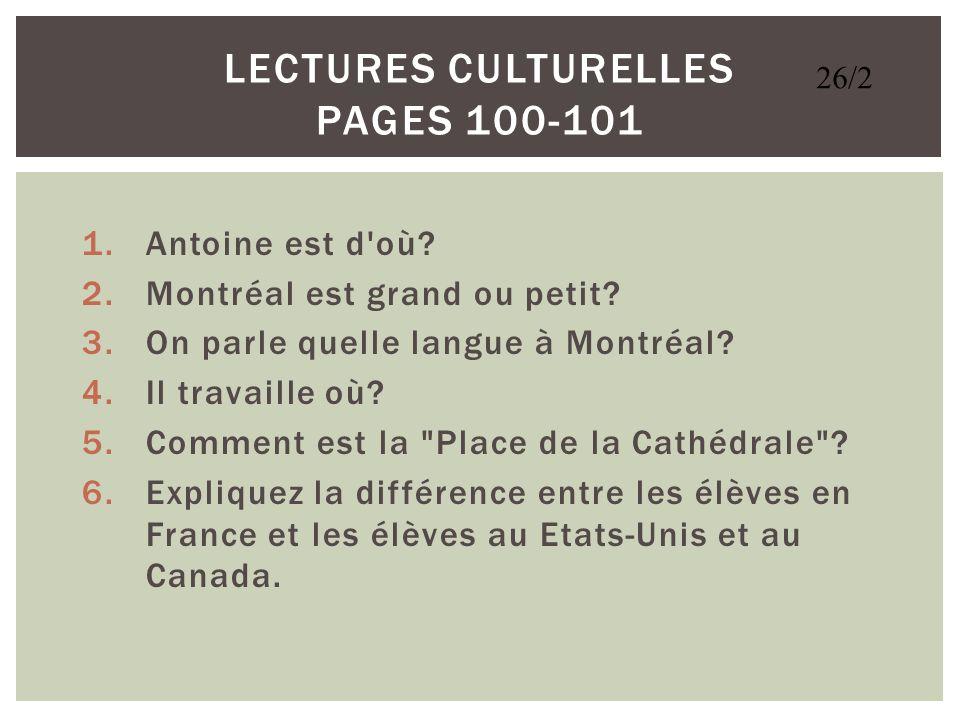 Lectures Culturelles Pages 100-101