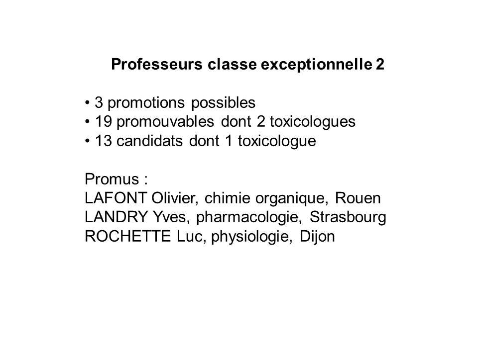 Professeurs classe exceptionnelle 2