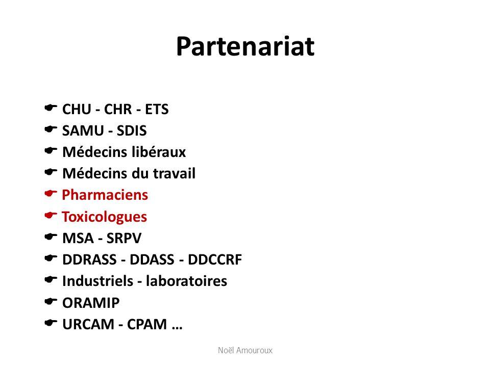 Partenariat  CHU - CHR - ETS  SAMU - SDIS  Médecins libéraux