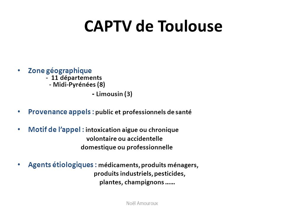CAPTV de ToulouseZone géographique - 11 départements - Midi-Pyrénées (8) - Limousin (3)