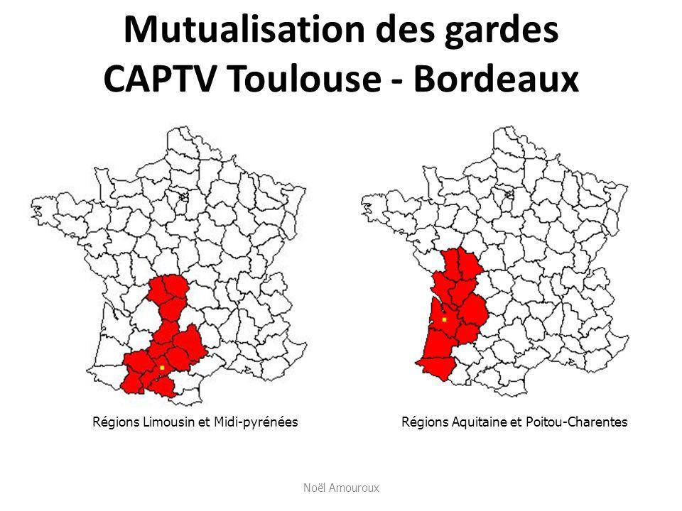 Mutualisation des gardes CAPTV Toulouse - Bordeaux