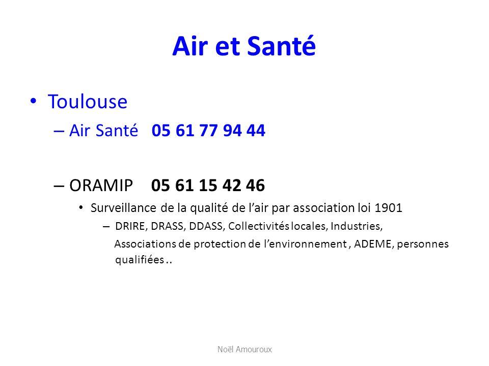 Air et Santé Toulouse Air Santé 05 61 77 94 44 ORAMIP 05 61 15 42 46