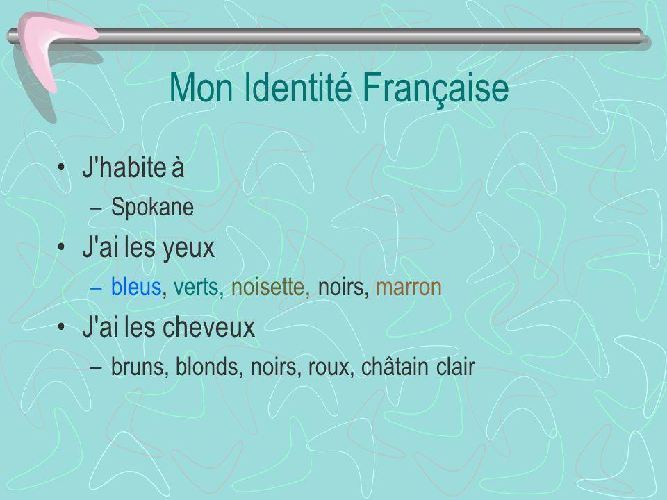 Mon Identité Française
