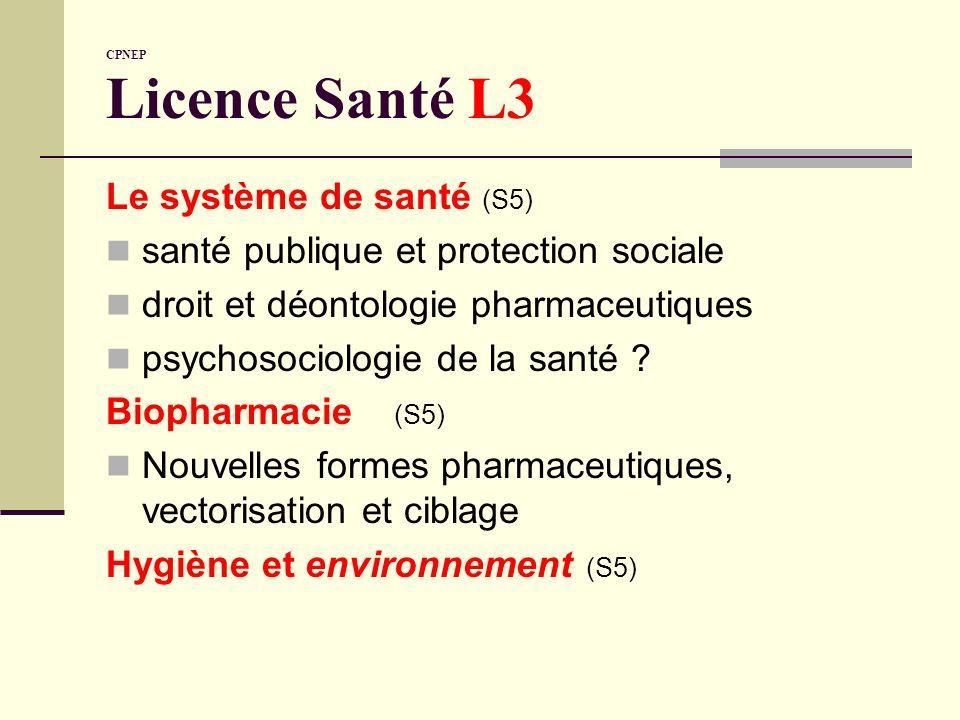 santé publique et protection sociale