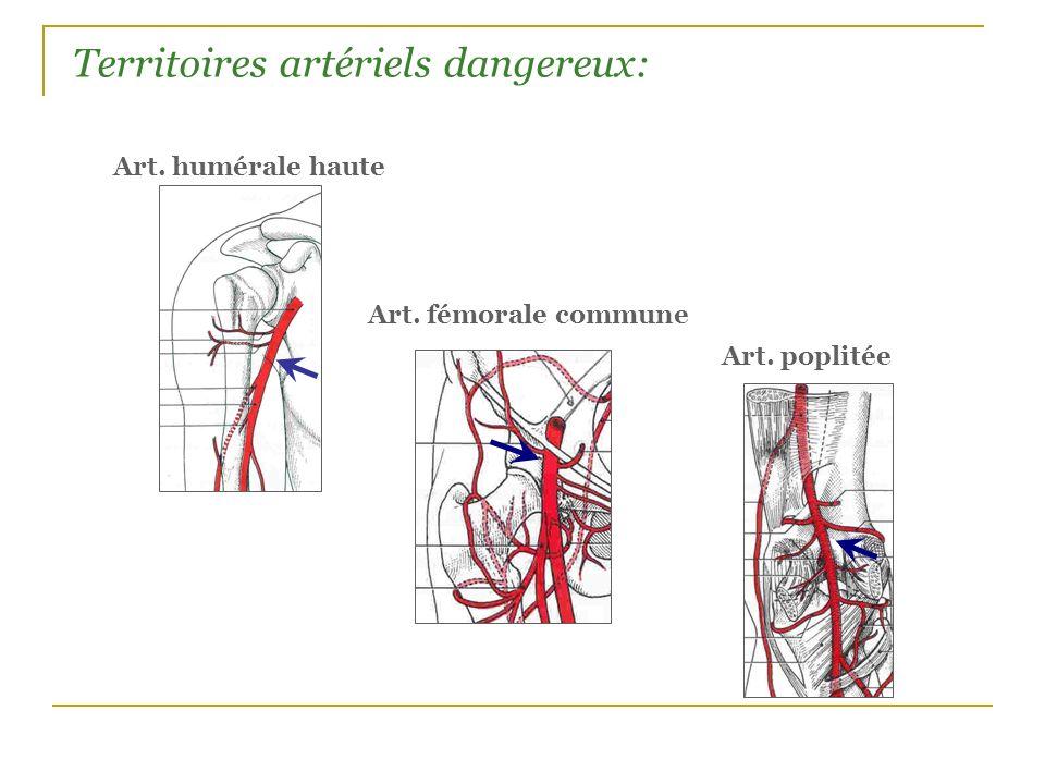 Territoires artériels dangereux: