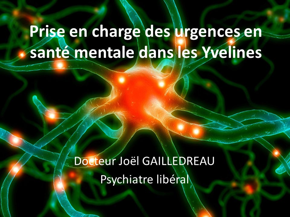 Prise en charge des urgences en santé mentale dans les Yvelines