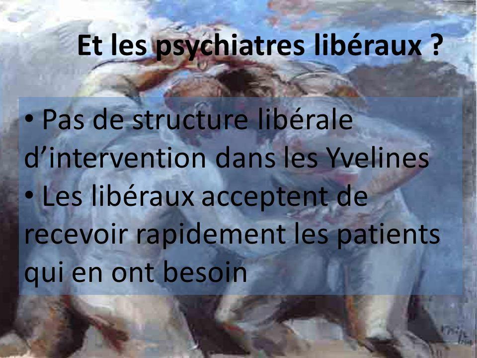 Et les psychiatres libéraux