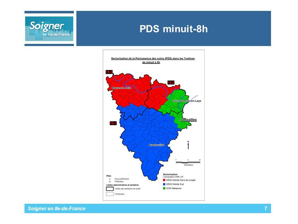 PDS minuit-8h