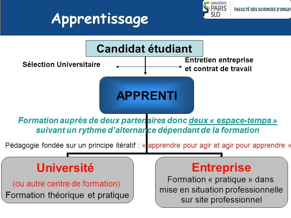 Apprentissage Candidat étudiant Entretien entreprise